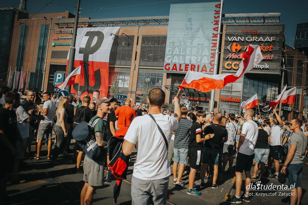 Obchody 76. rocznicy Powstania Warszawskiego we Wrocławiu - zdjęcie nr 1532570