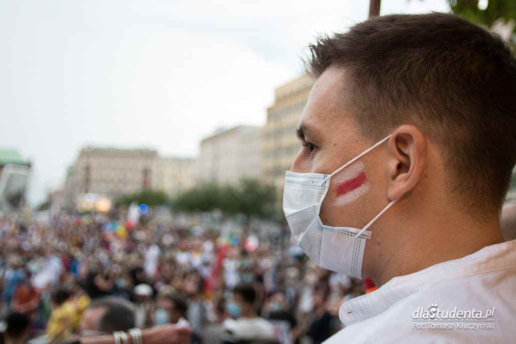 Wolność dla Białorusi - demonstracja w Poznaniu  - zdjęcie nr 1533521