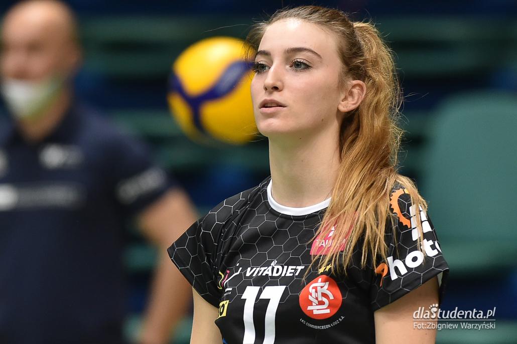 #VolleyWrocław - ŁKS Commercecon Łódź 1:3 - zdjęcie nr 4