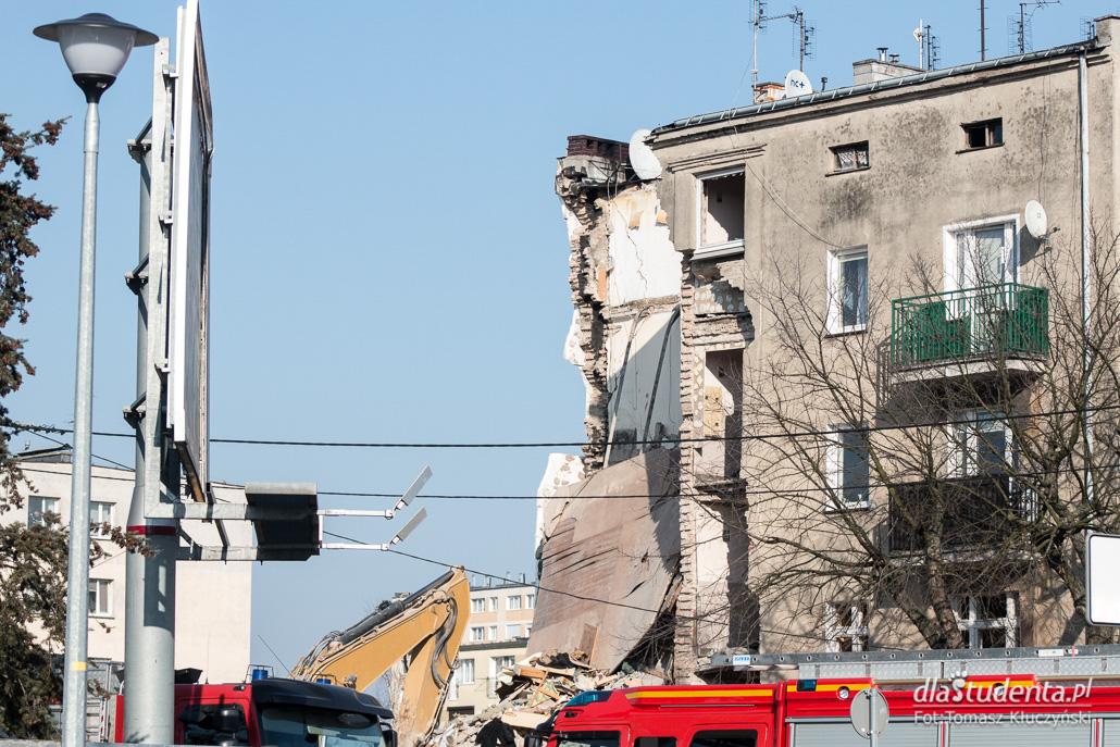 Wybuch gazu w kamienicy w Poznaniu