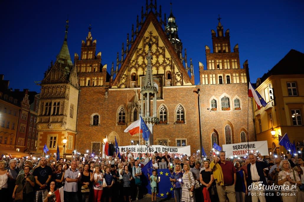 Łańcuch Światła we Wrocławiu