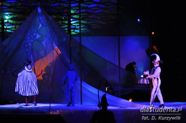Premiera Cirque du Soleil Saltimbanco