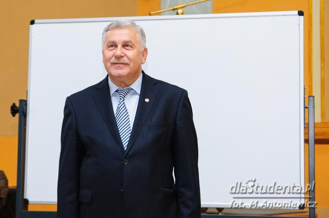 Jerzy Engel na UE w Poznaniu