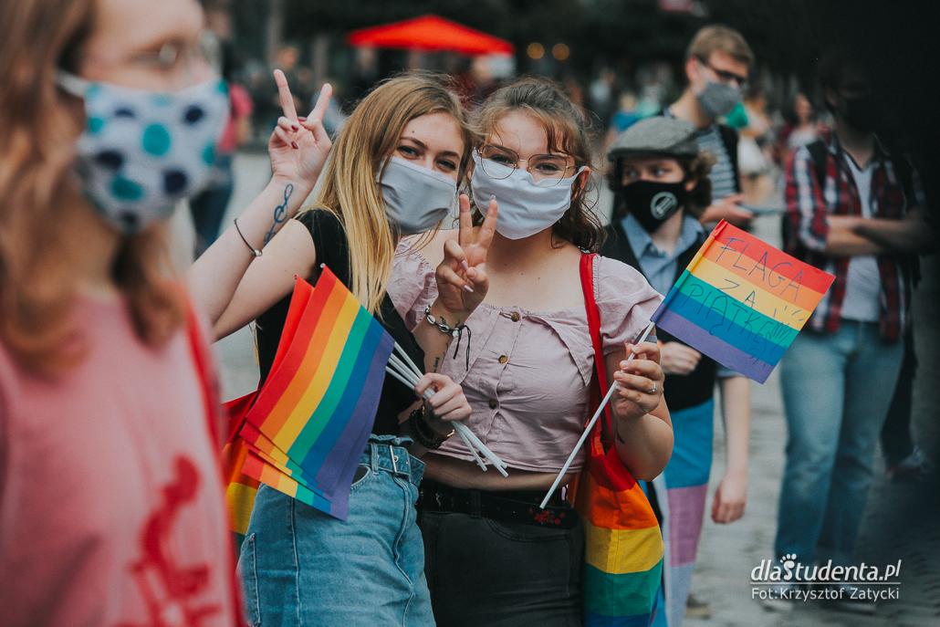 Manifestacja we Wrocławiu: LGBT to ludzie