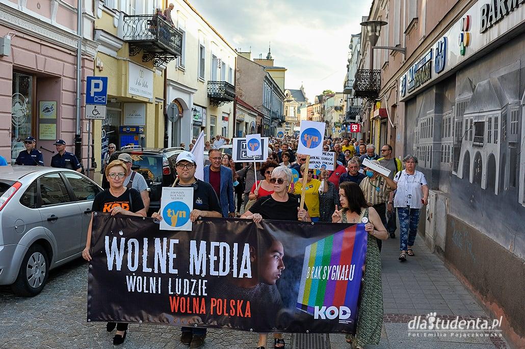 Wolne Media, Wolni Ludzie - manifestacja w KIelcach