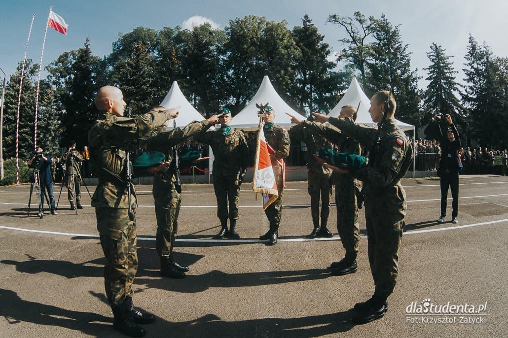 Uroczysta przysięga w Akademi Wojsk Lądowych