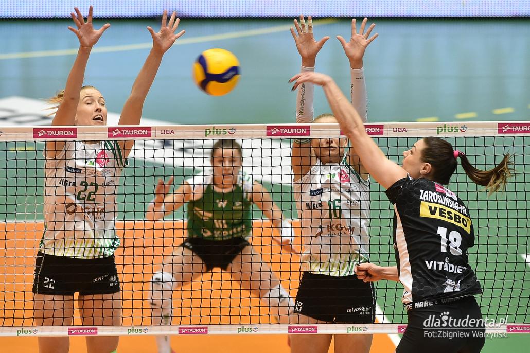#VolleyWrocław - ŁKS Commercecon Łódź 1:3 - zdjęcie nr 6
