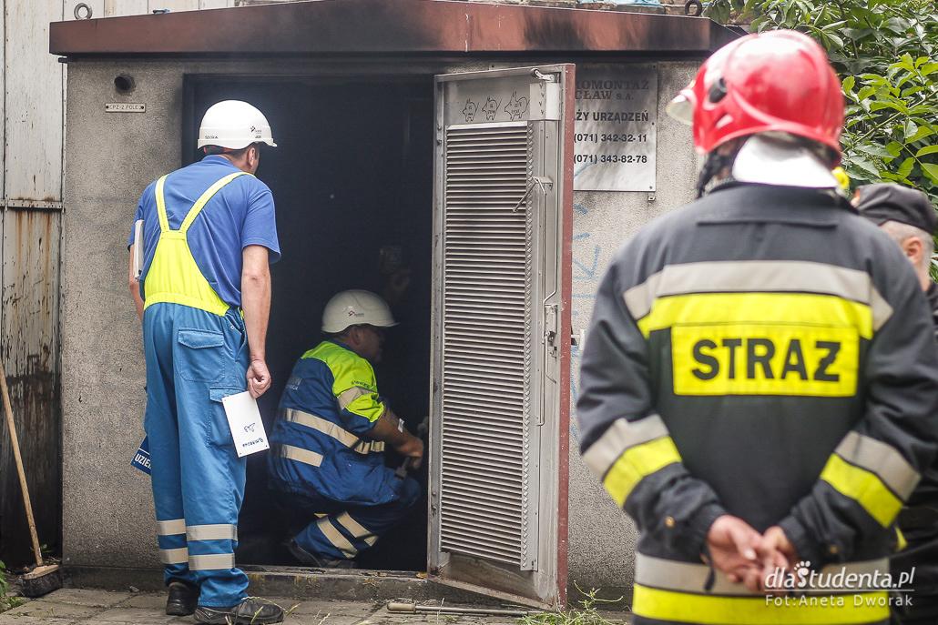 Wybuch w stacji transformatorowej we Wrocławiu
