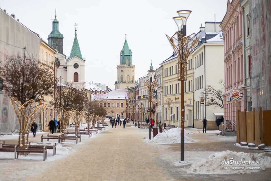 Zima w Lublinie 2021
