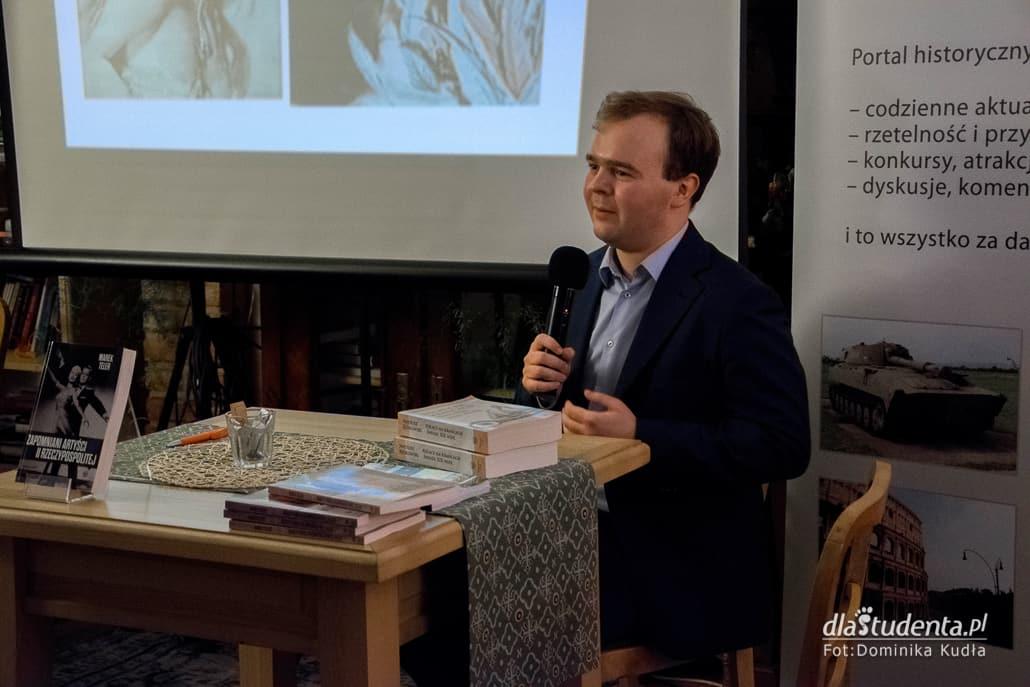 Marek Teler - spotkanie autorskie