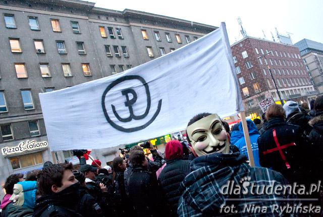 Protest przeciwko ACTA