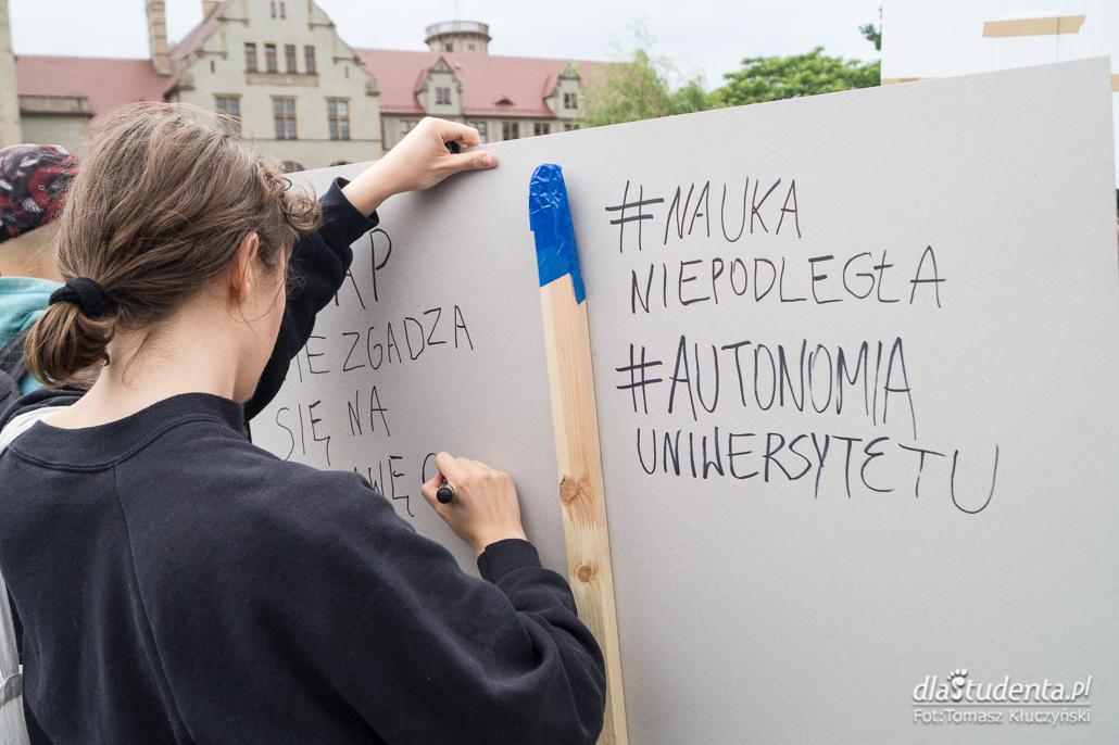 Protest studentów przeciwko reformie 2:0 - zdjęcie nr 10