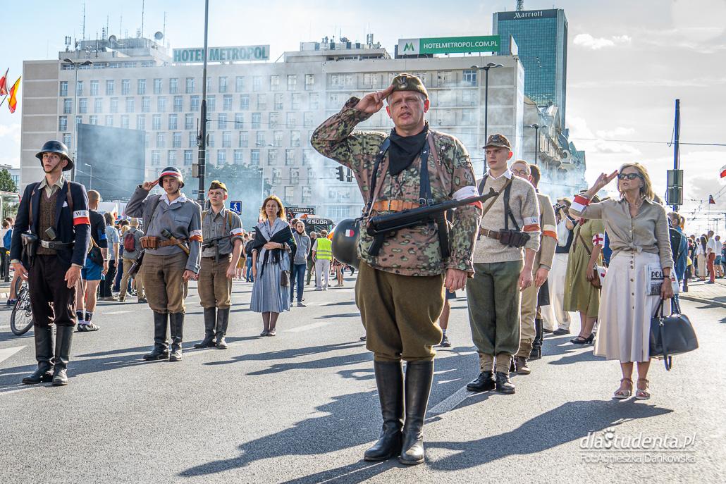 Obchody 76. rocznicy Powstania Warszawskiego w Warszawie