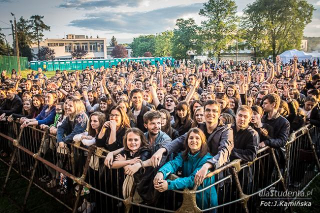Juwenalia Krakowskie 2015: Organek, Enej, Bednarek, Coma, Laureat DachOOFka Festival