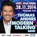 Thomas Anders & Moders Talking Band - koncert andrzejkowy