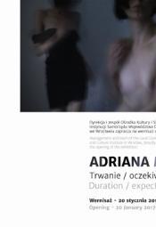 Trwanie / oczekiwanie - Adriana Myśliwiec