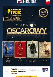 Maraton Oscarowy w kinach Helios