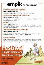 Festiwal Książki Dziecięcej Przecinek i Kropka