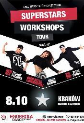 Superstars Workshops Tour po raz pierwszy w Krakowie