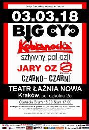 Big Cyc + Kobranocka + Sztywny Pal Azji + Jary OZ + Czarno-Czarni