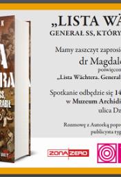 Spotkanie autorskie z Magdaleną Ogórek