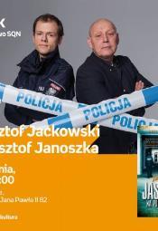 Spotkanie autorskie z Jackowskim i Janoszką