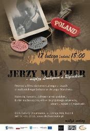 Jerzy Malcher - między Londynem a Rybnikiem
