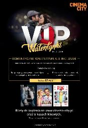 Walentynki all inclusive w strefie VIP w Cinema City Wroclavia