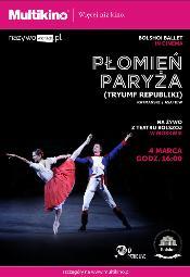 """""""Płomień Paryża"""" z Teatru Bolszoj w Multikinie"""