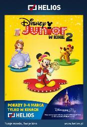 Specjalne pokazy Disney Junior 2 w Kinie Helios