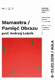 Mamantra / Pamięć Obrazu