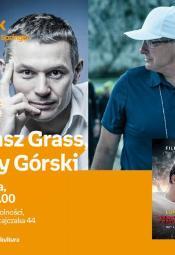 """Spotkanie autorskie z Łukaszem Grassem o książce """"Najlepszy"""""""