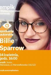 Billie Sparrow - spotkanie autorskie