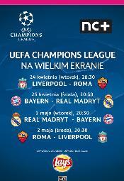 Liga Mistrzów UEFA - rewanże półfinałów