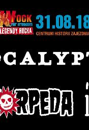 wROCK for Freedom 2018: Apocalyptica, Luxtorpeda i Illusion