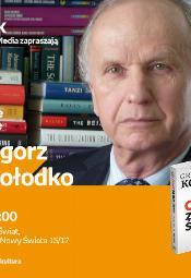 Grzegorz W. Kołodko - spotkanie autorskie
