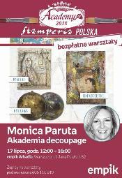 Akademia Decoupage z włoską artystką w Warszawie