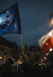 Wolne Sądy - protest we Wrocławiu