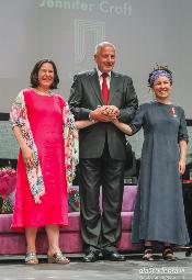 Booker we Wrocławiu: Olga Tokarczuk + Jennifer Croft + Lloyd-Jones