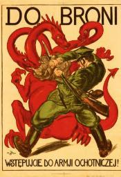 Polsko-bolszewicka wojna na plakaty