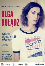 Spotkanie z Olgą Bołądź w Domu Kultury Praga