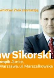 Spotkanie autoskie z Radosławem Sikorskim