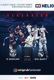 El Clásico: FC Barcelona vs Real Madryt w Heliosie