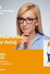 Anna Makowska (Doktor Ania) - spotkanie autorskie