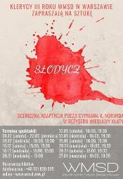 """Spektakl """"Słodycz"""" w reżyserii Wiesławy Klaty"""