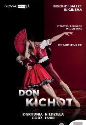 """""""Don Kichot"""" z Teatru Bolszoj w Multikinie"""