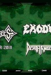 MTV Headbanger's Ball Tour 2018 - Sodom, Death Angel, Suicidal Angels
