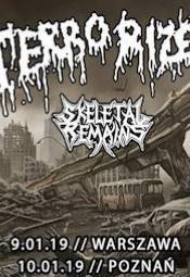"""TERRORIZER """"Caustic Attack European Tour"""" + Skeletal Remains - Warszawa"""