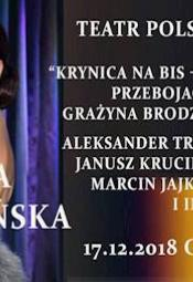 Grażyna Brodzińska i jej goście