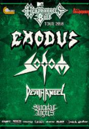 Sodom, Death Angel, Suicidal Angels, Exodus